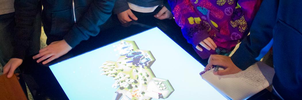Future Worlds engages museum visitors in science problem-solving scenarios